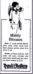 Middy blouses
